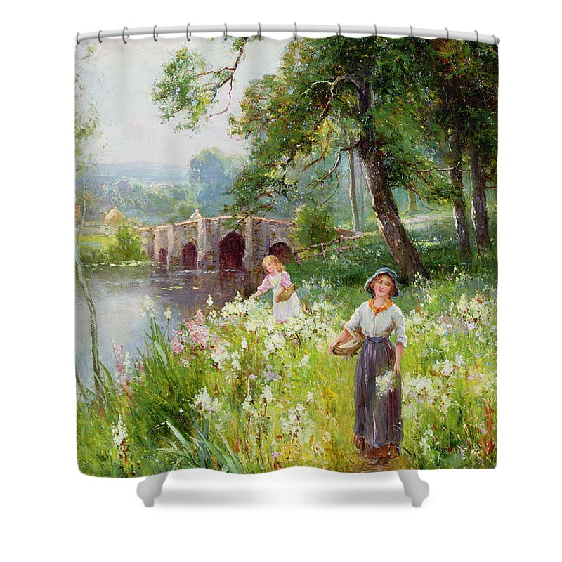 Designs Similar to Picking Flowers By The River