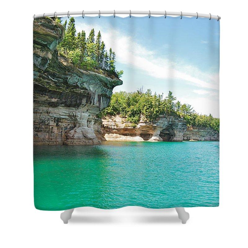 Lake Superior Shower Curtains