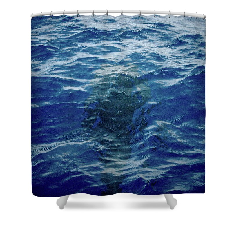 Valasretki Shower Curtain featuring the photograph Pilot Whale 9 The Mermaid by Jouko Lehto