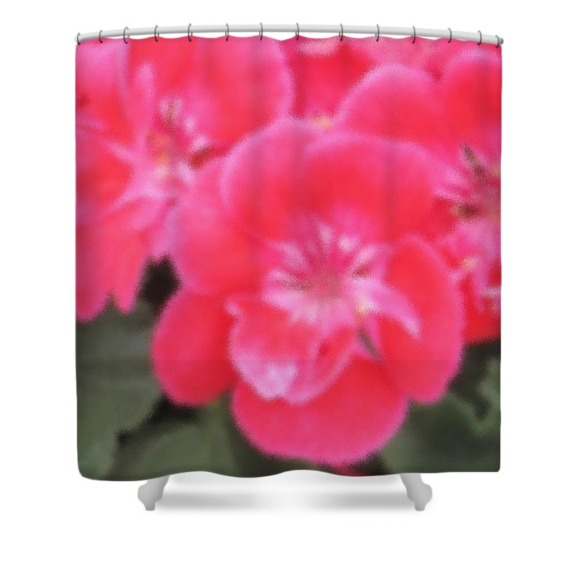 Pink Shower Curtain featuring the photograph Pink by Ian MacDonald