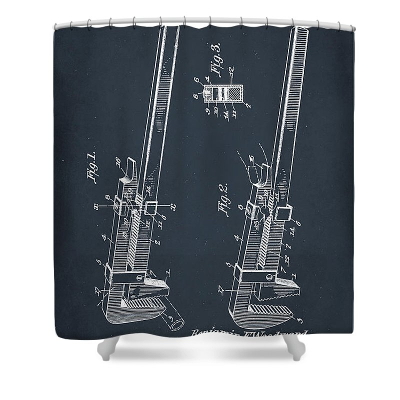 Patent Pending Mixed Media Shower Curtains
