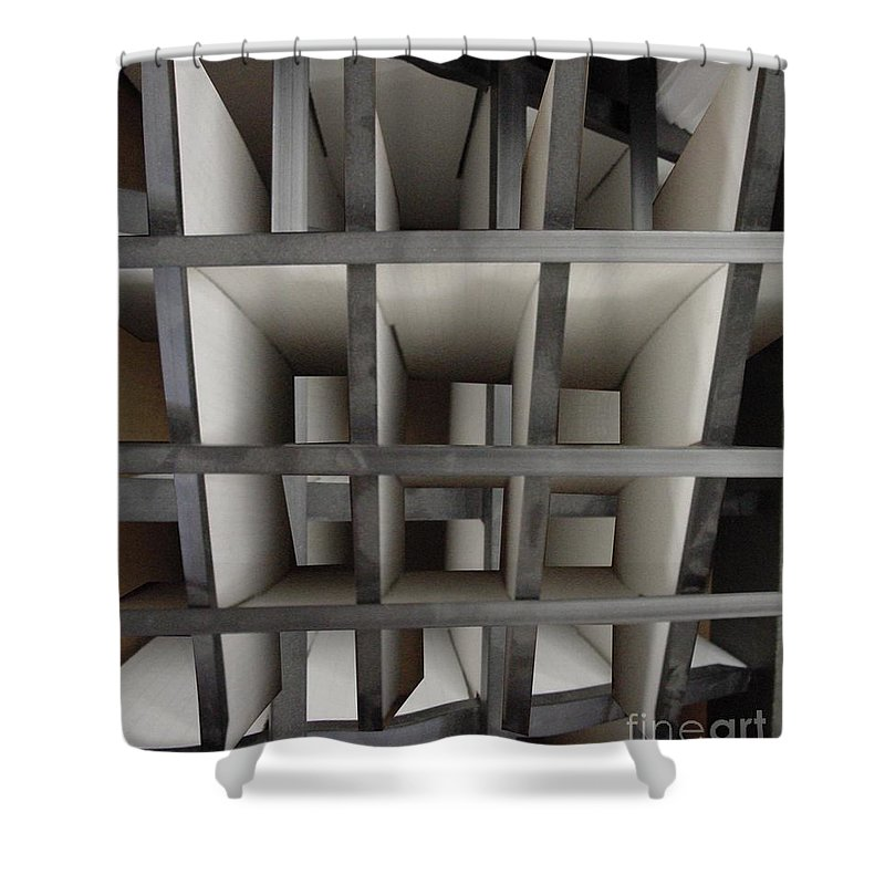 Perspective Shower Curtain featuring the digital art Plain Perspective by Ron Bissett