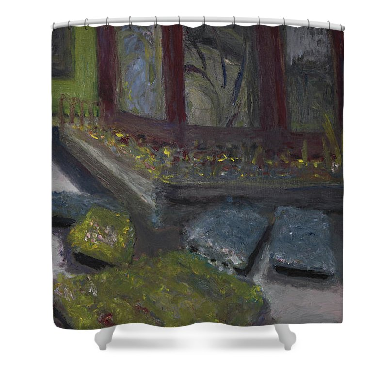 Plants Shower Curtain featuring the painting Plant Me by Craig Newland