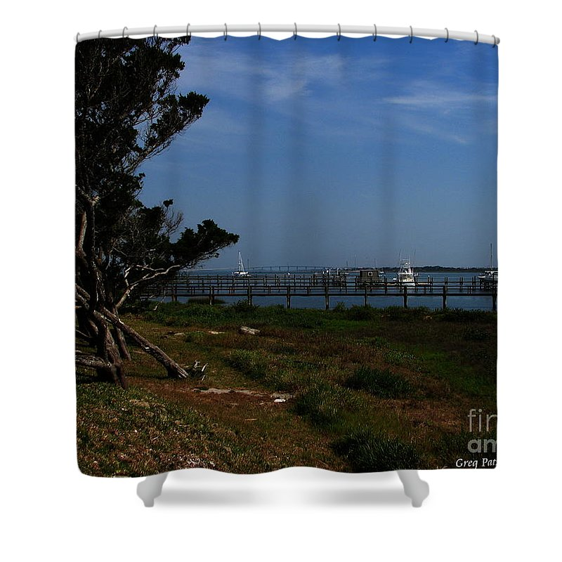 Art For The Wall...patzer Photography Shower Curtain featuring the photograph Ponce De Leon by Greg Patzer