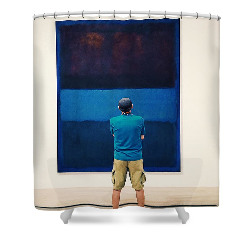 Painting Shower Curtain featuring the photograph Pop Art by Nancy Merkle