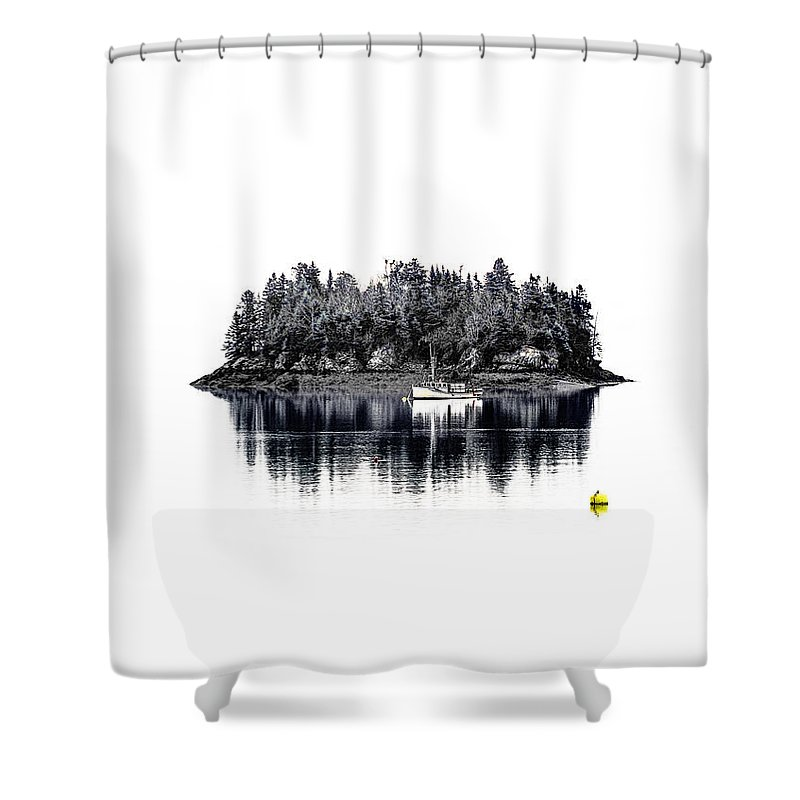 Popes Folly Island Shower Curtain Featuring The Photograph By Marty Saccone