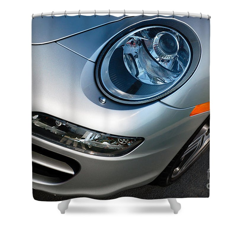 911 Shower Curtain featuring the photograph Porsche 911 by Paul Velgos