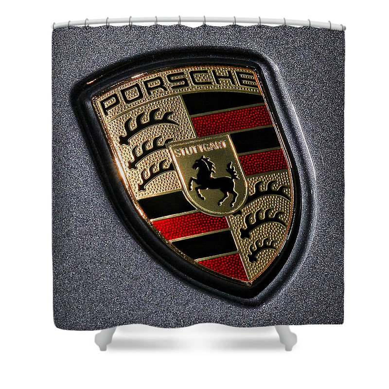Porsche 993 Shower Curtains
