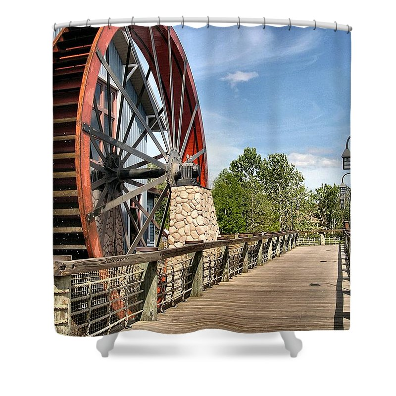 Port Orleans Shower Curtain featuring the photograph Port Orleans Riverside IIi by Nora Martinez