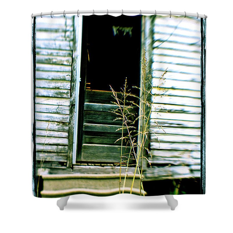 Lensbaby Shower Curtain featuring the photograph Portello Posteriore by Scott Pellegrin