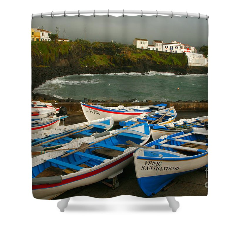 Coastal Shower Curtain featuring the photograph Porto Dos Carneiros by Gaspar Avila