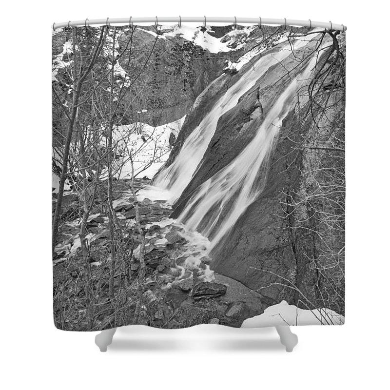 Helen Hunt Falls Shower Curtain featuring the photograph Potamoi, The Greek River Deities by Bijan Pirnia