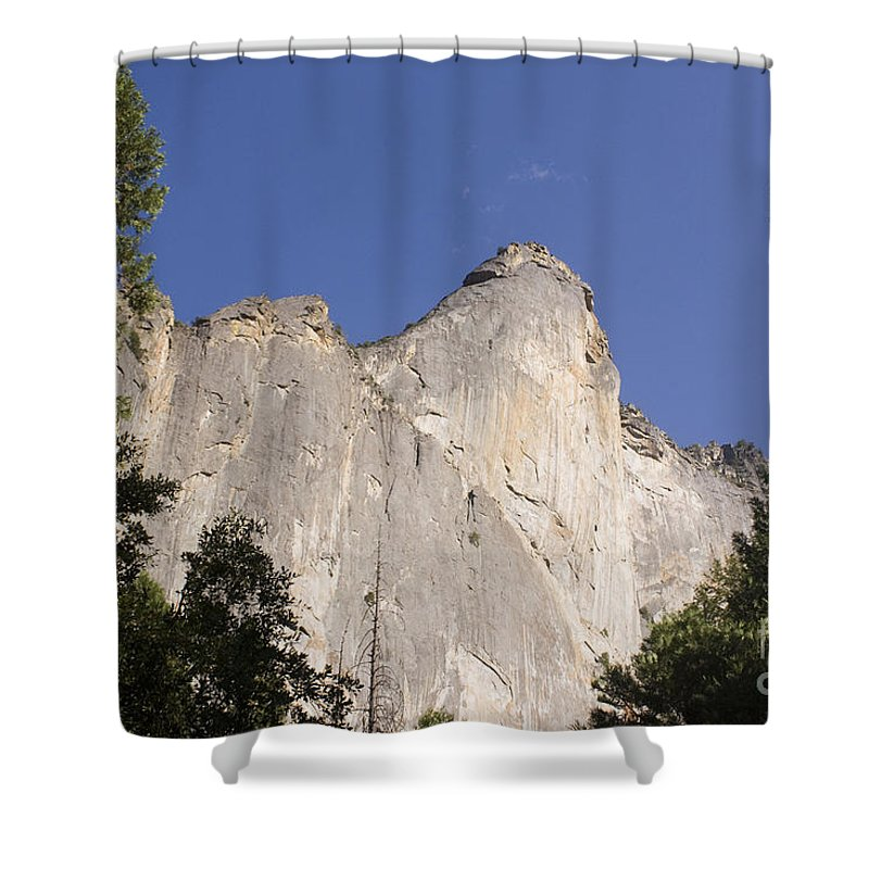 Landscape Shower Curtain featuring the photograph pr 133 - White Mountain by Chris Berry