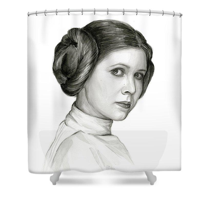 Leia Organa Shower Curtains