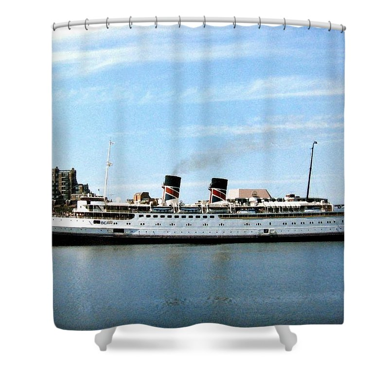Princess Marguerite Shower Curtain featuring the photograph Princess Marguerite by Will Borden