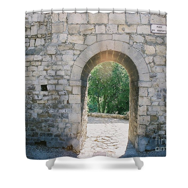 Promise Shower Curtain featuring the photograph Promise by Nadine Rippelmeyer