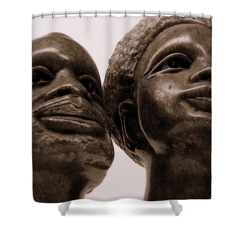 Proud Shower Curtain featuring the photograph Proud by Ed Smith