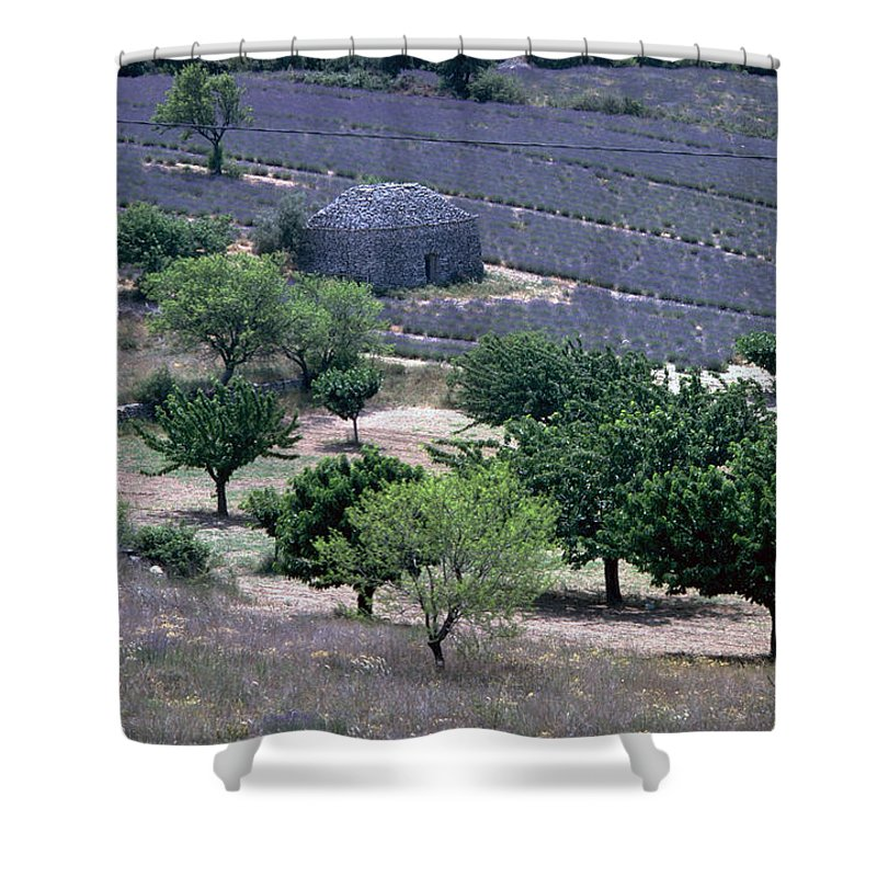 Provence Shower Curtain featuring the photograph Provence by Flavia Westerwelle