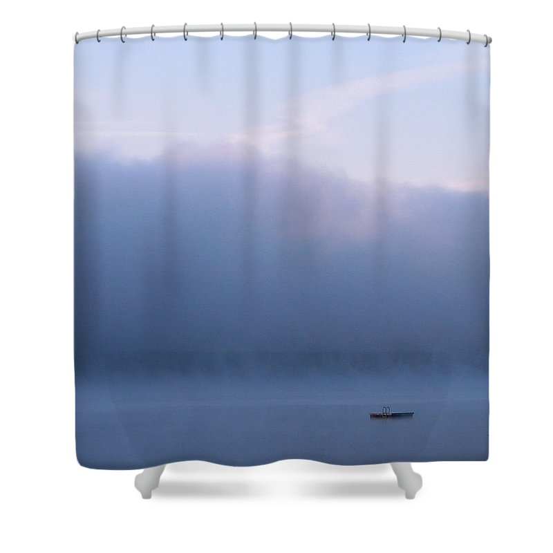 Photography Shower Curtain featuring the photograph Purple Haze by Michael Mooney