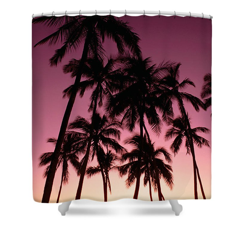 Beautiful Shower Curtain featuring the photograph Purple Sunset by Carl Shaneff - Printscapes