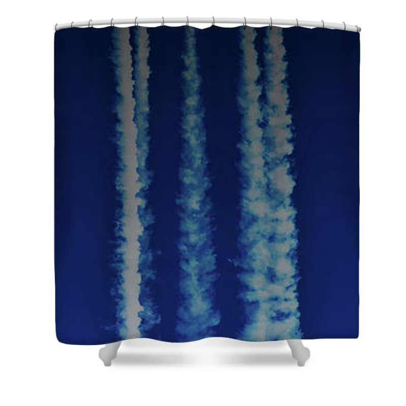 Moon Shower Curtain featuring the photograph Racing For The Moon by Chris Lord