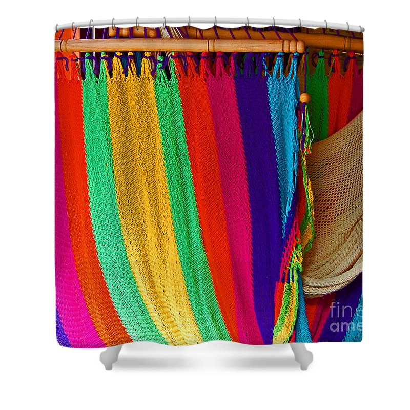 Hammock Shower Curtain featuring the photograph Rags To Riches by Debbi Granruth