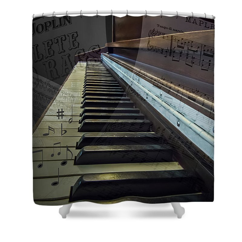 2d Shower Curtain featuring the photograph Ragtime by Brian Wallace