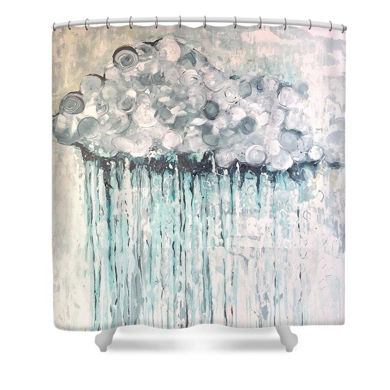 Rain Cloud Shower Curtain For Sale By Ann Tygett Jones