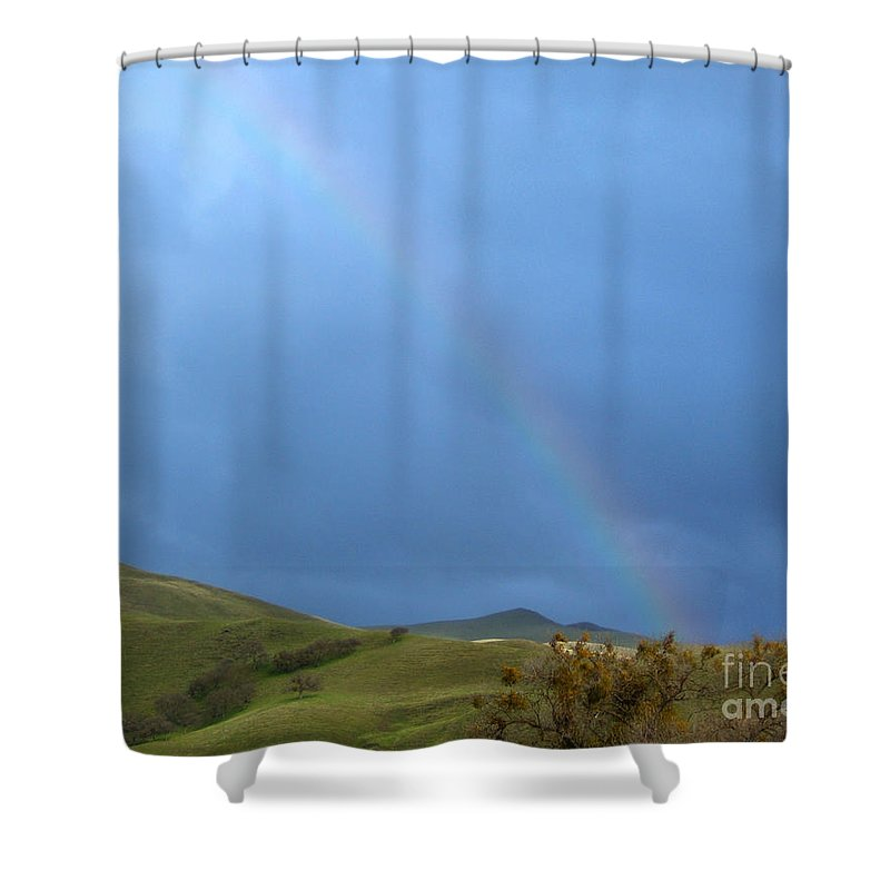 Artoffoxvox Shower Curtain featuring the photograph Rainbow Country Photograph by Kristen Fox