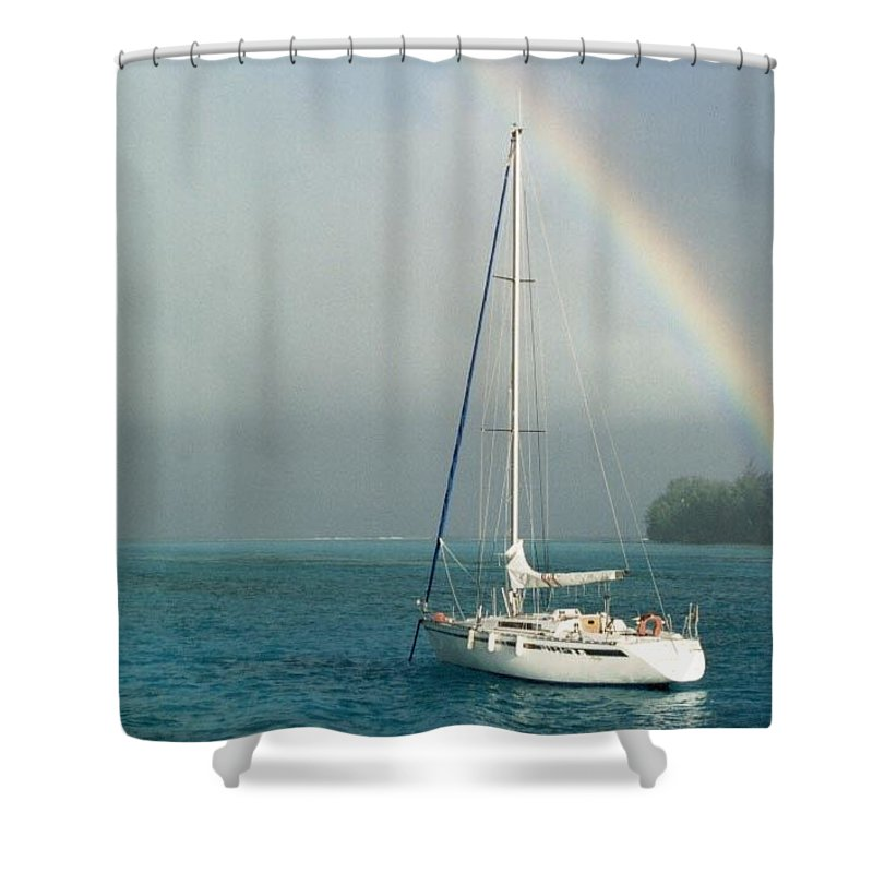 Charity Shower Curtain featuring the photograph Rainbow by Mary-Lee Sanders