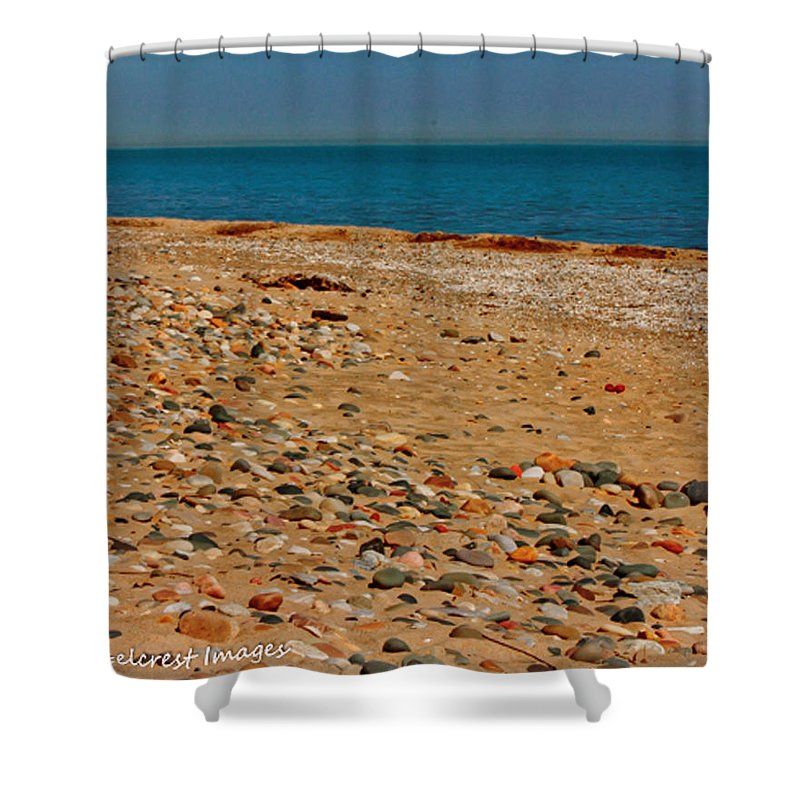 Fine Art Shower Curtain featuring the photograph Rainbow Path by Amy Hites