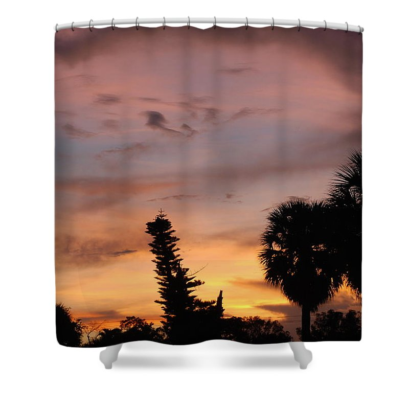 Sunset Shower Curtain featuring the photograph Rainbow Sunset by Rob Hans