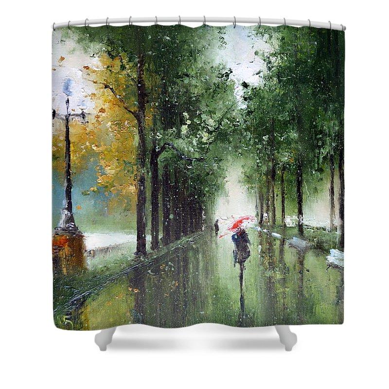 Rainy Autumn Shower Curtain for Sale by Igor Medvedev