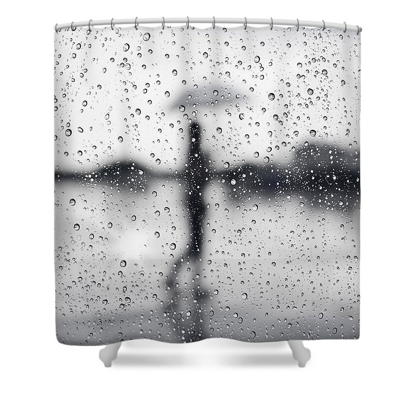 Window Photographs Shower Curtains
