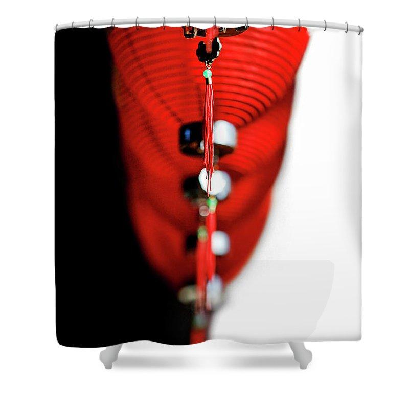 Kremsdorf Shower Curtain featuring the photograph Raise The Red Lantern by Evelina Kremsdorf