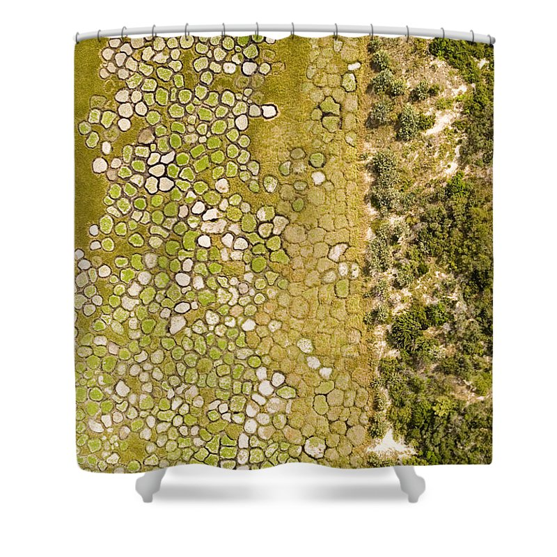 Africa Shower Curtain featuring the photograph Raised Bed Vegetable Gardens by Michael Fay