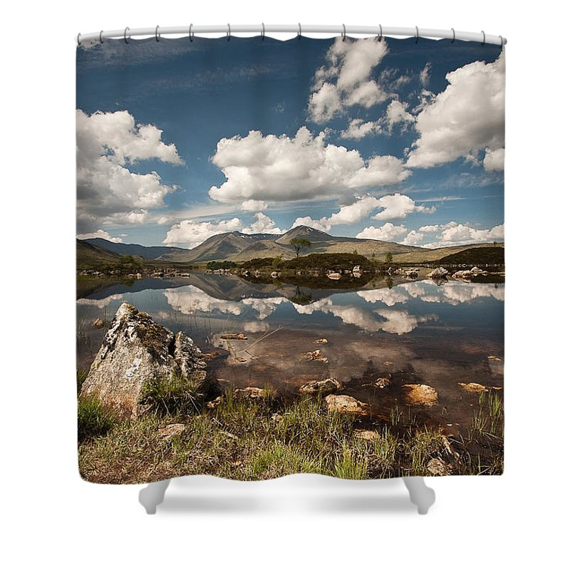 Scotland Shower Curtain featuring the photograph Rannoch Moor by Colette Panaioti