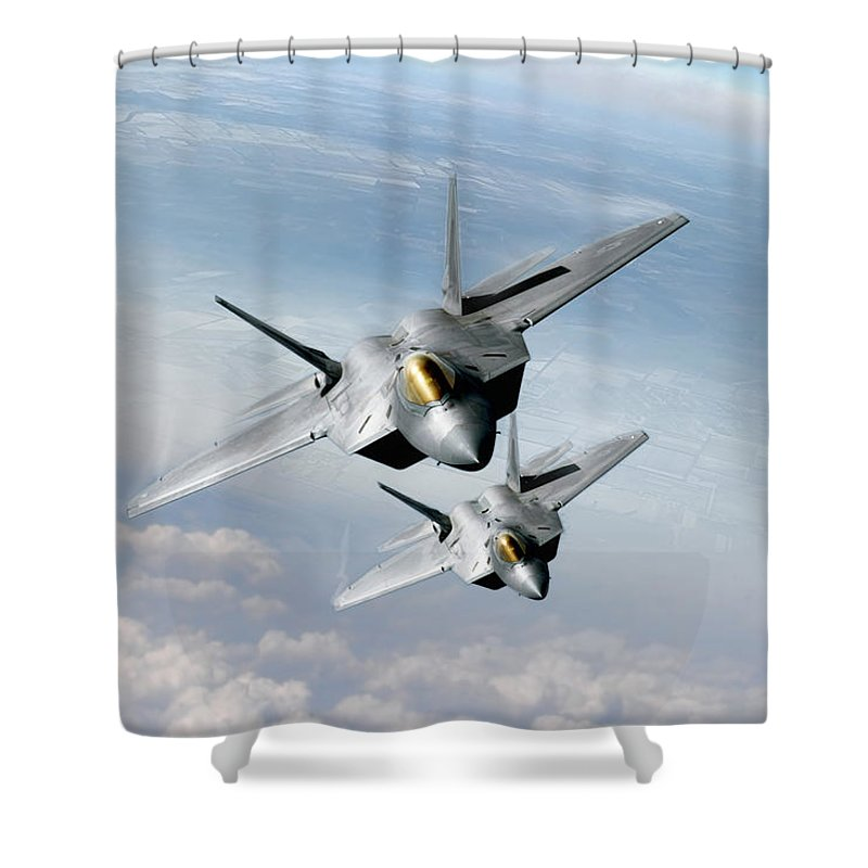 F-22 Shower Curtains