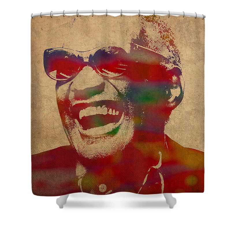 Rays Shower Curtains