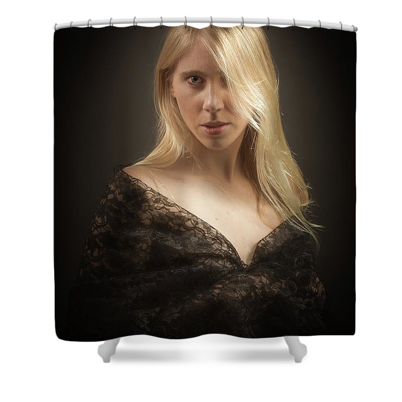 Age Shower Curtain featuring the photograph Ready by William Freebilly photography