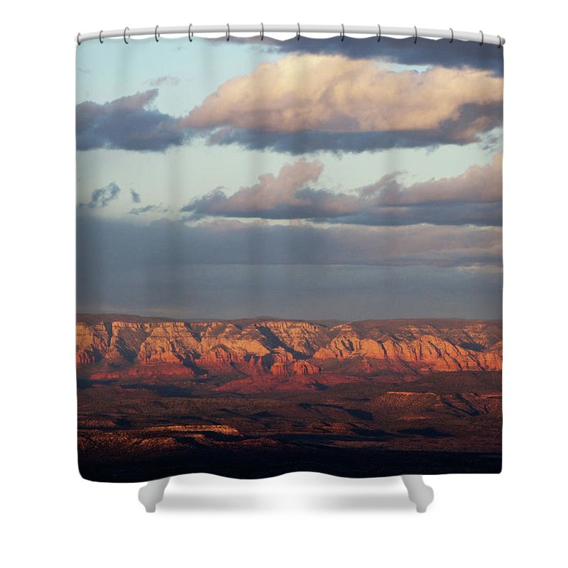 Sedona Arizona Shower Curtain featuring the photograph Red Rock Crossing, Sedona by Ron Chilston