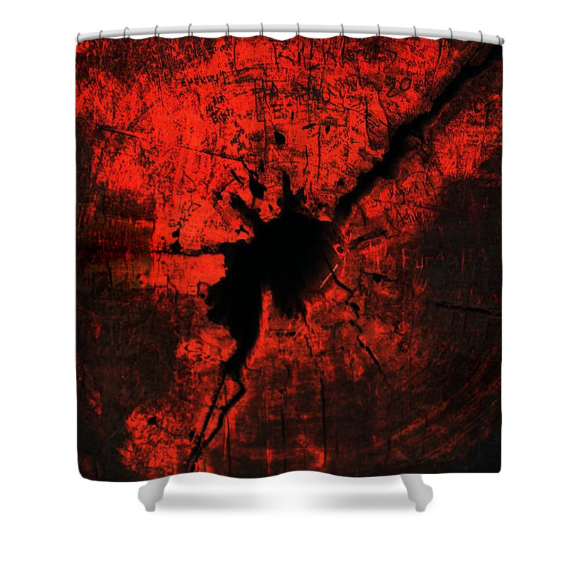 Redwood Shower Curtain featuring the photograph Red Wood by Joanne Coyle