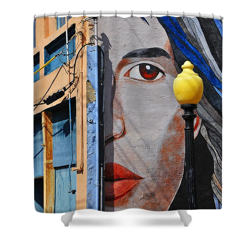 Skip Hunt Shower Curtain featuring the photograph Redeye by Skip Hunt