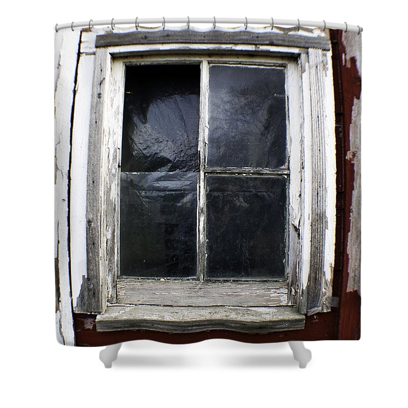 Art Shower Curtain featuring the photograph Reflecting On Country Living by Clayton Bruster