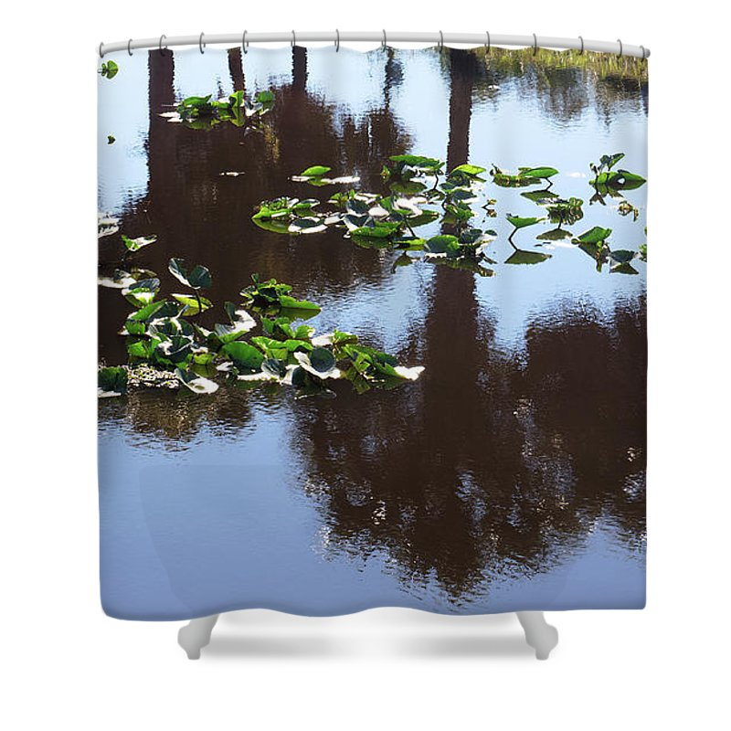 Nature Shower Curtain featuring the photograph Reflections by Clarence Ratliff