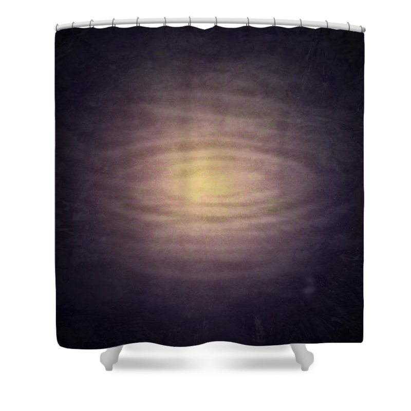 Rain Shower Curtain featuring the photograph Relativity by Richard Andrews