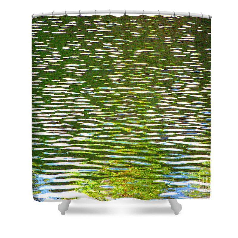 Water Shower Curtain featuring the photograph Relaxation by Sybil Staples