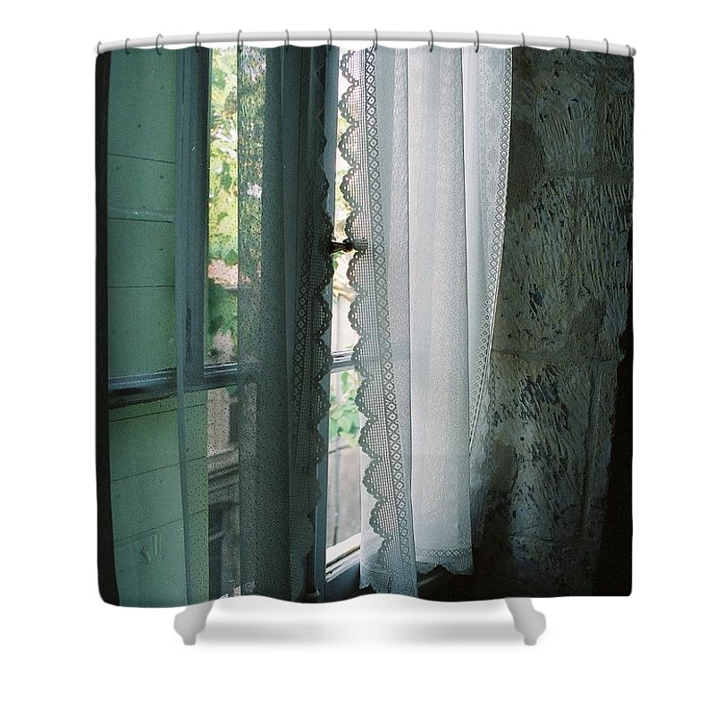 Arles Shower Curtain featuring the photograph Rest by Nadine Rippelmeyer