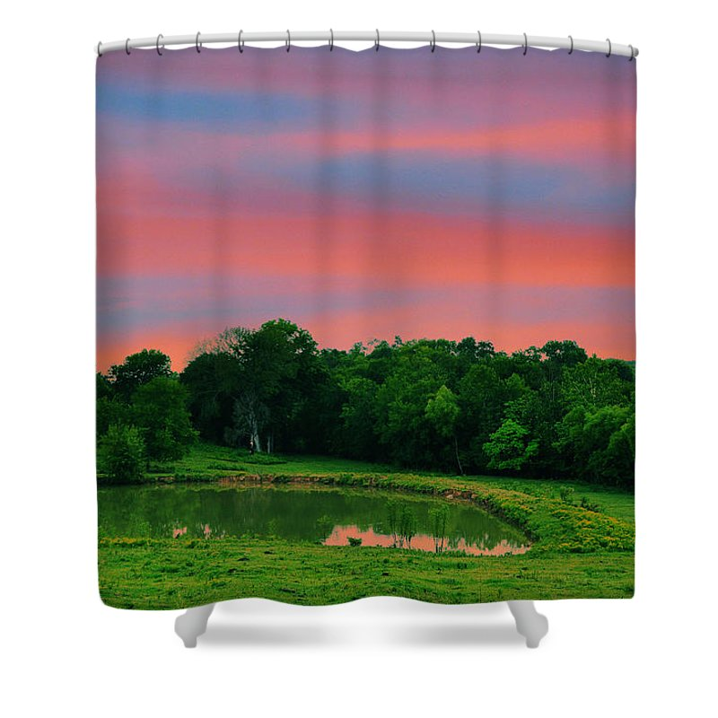 Landscapes Shower Curtain featuring the photograph Restful Afternoon by Jan Amiss Photography