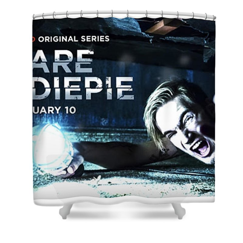 Revive Show Shower Curtain featuring the digital art Revive Favorite Show by Mytv